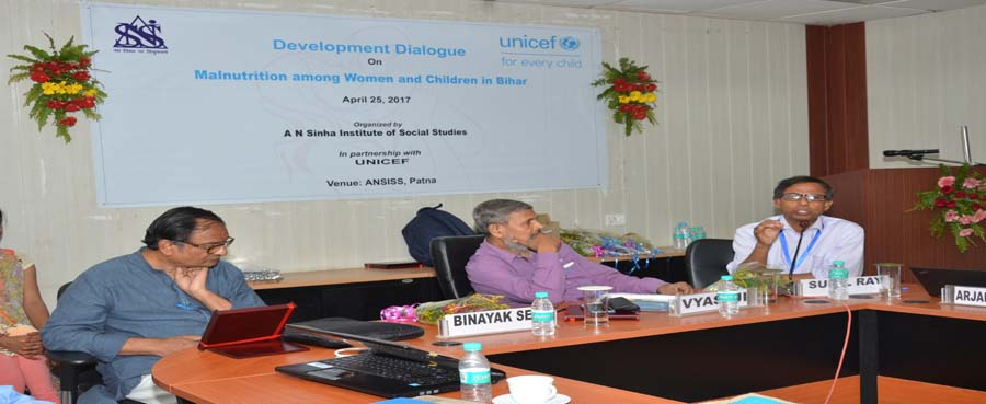 Development Dialogue on Malnutrition among Children and Women in Bihar.