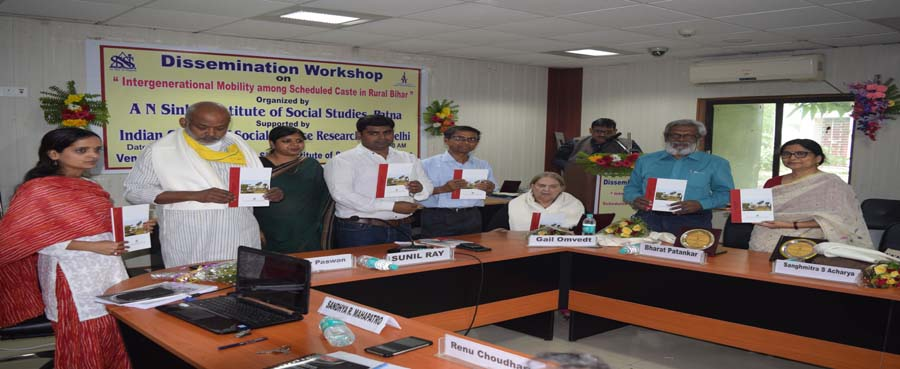 Dissemination Workshop on ''Intergenerational Mobility among Scheduled Caste in Rural Bihar'' (05.05.2018)