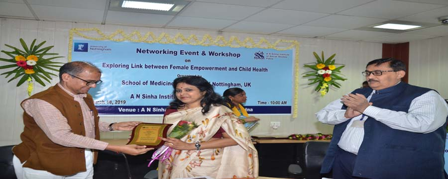 Networking Event & Workshop on Exploring Link between Female Empowerment and Child Health (March 18, 2019)